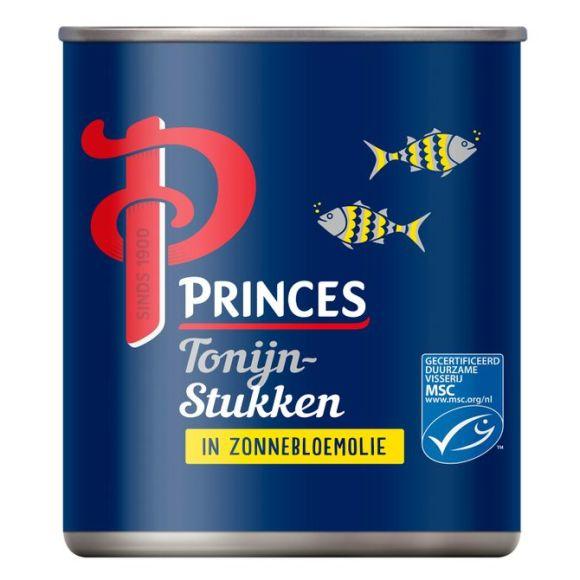 Princes Tonijnstukken in zonnebloemolie product photo