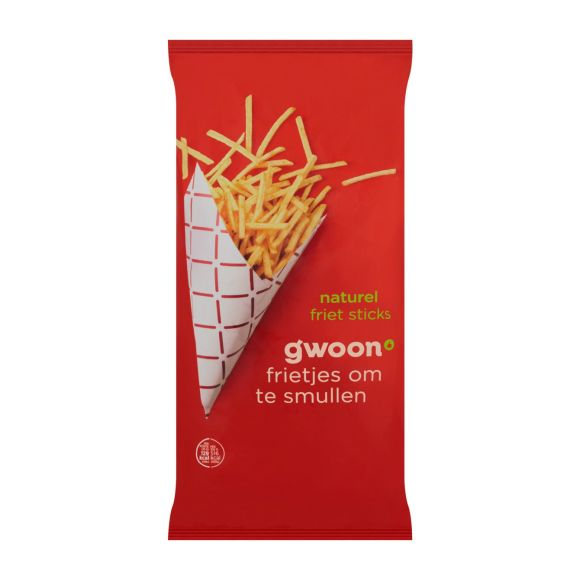 g'woon Frietsticks naturel product photo