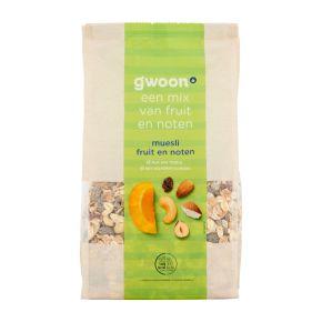 g'woon Muesli fruit & noten product photo