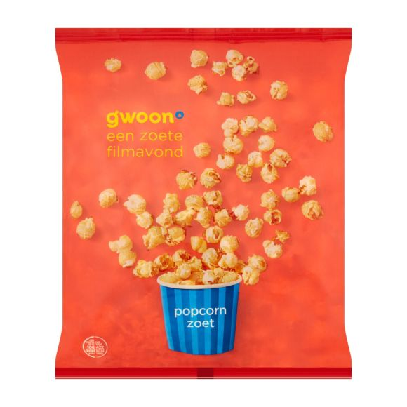 g'woon Popcorn zoet product photo