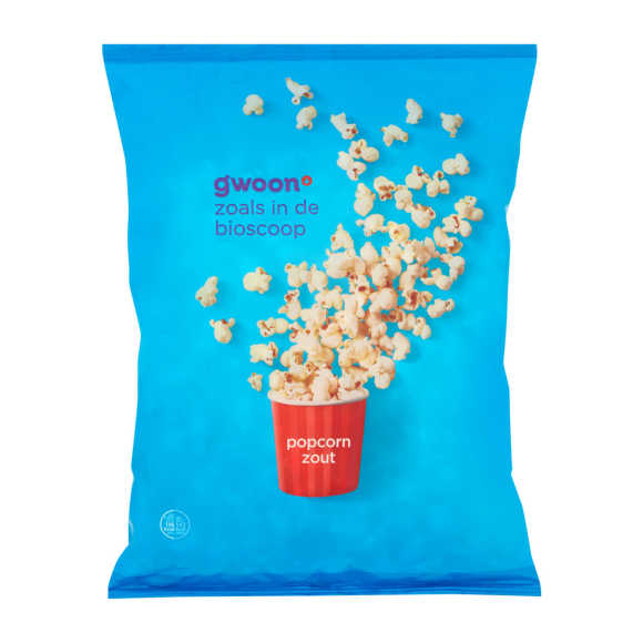 g'woon Popcorn zout product photo