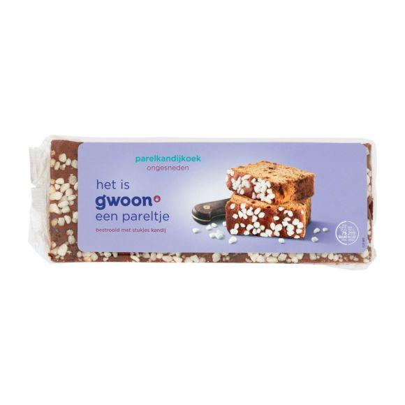 g'woon Ontbijtkoek parelkandij ongesneden product photo