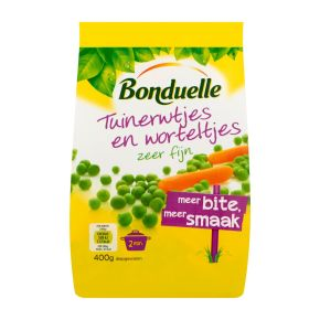 Tuinerwtjes en worteltjes zeer fijn *meer bite, meer smaak* product photo