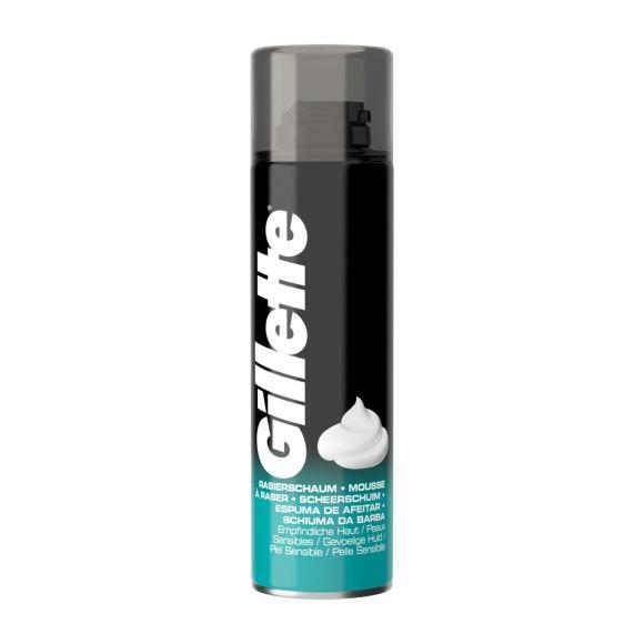 Gillette Classic scheerschuim Gevoelige Huid voor mannen product photo
