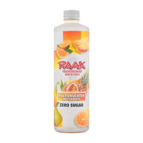 Raak Multivruchten vruchtensiroop zero sugar product photo