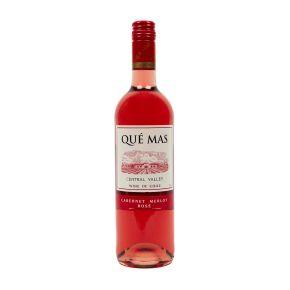 Qué Mas Cabernet merlot rosé product photo