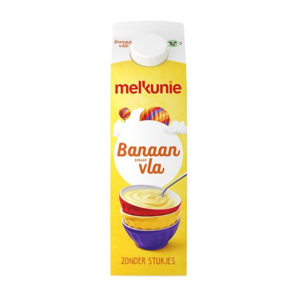 Melkunie Banaan vla product photo