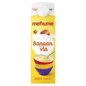 Melkunie Banaan vla product photo