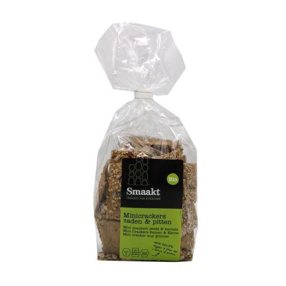 Smaakt Mini crackers zaden & pitten biologisch product photo