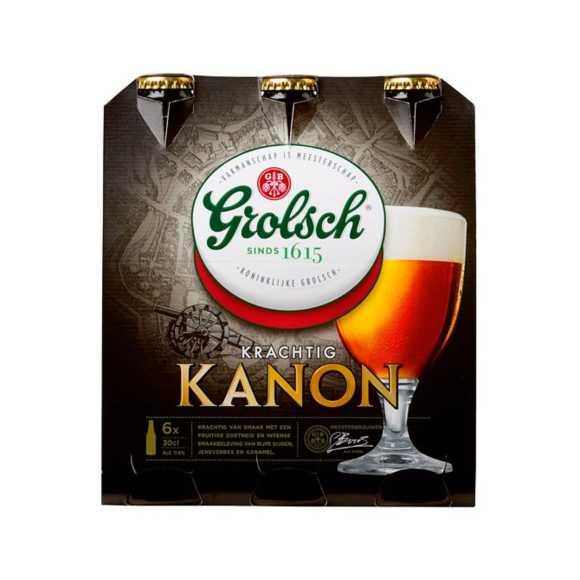 Grolsch Kanon bier fles 6 x 30 cl product photo