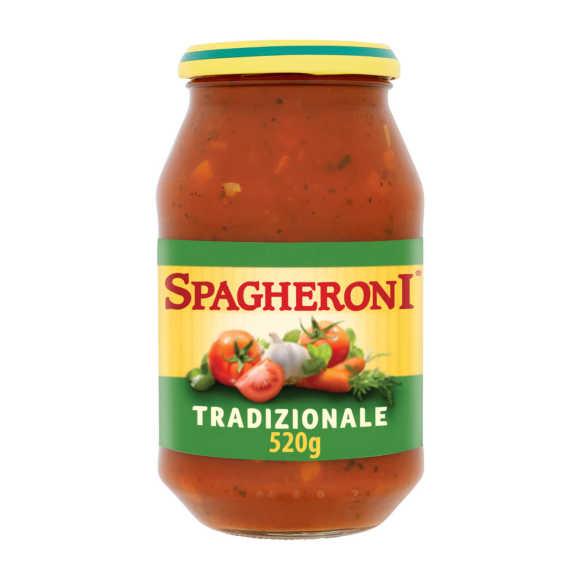 Spagheroni Tradizionale pastasaus product photo
