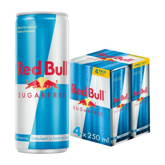 Red Bull Energydrink sugarfree product photo