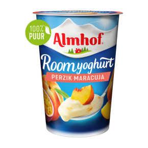 Almhof roomyoghurt perzik maracuja product photo