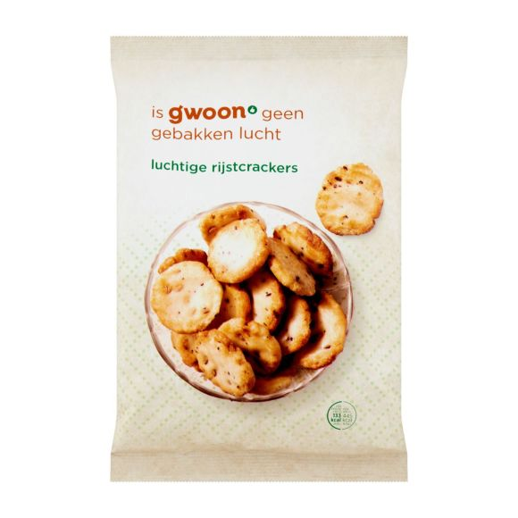 g'woon Luchtige rijstcrackers product photo