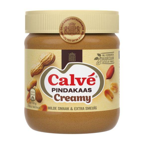 Calvé Pindakaas creamy product photo