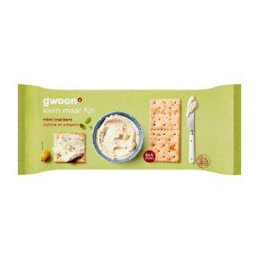 g'woon Minicrackers olijf & oregano product photo