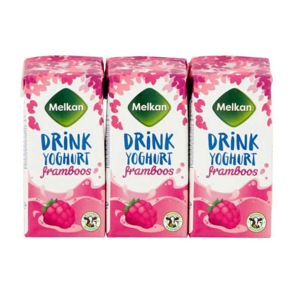 Melkan Drinkyoghurt framboos product photo