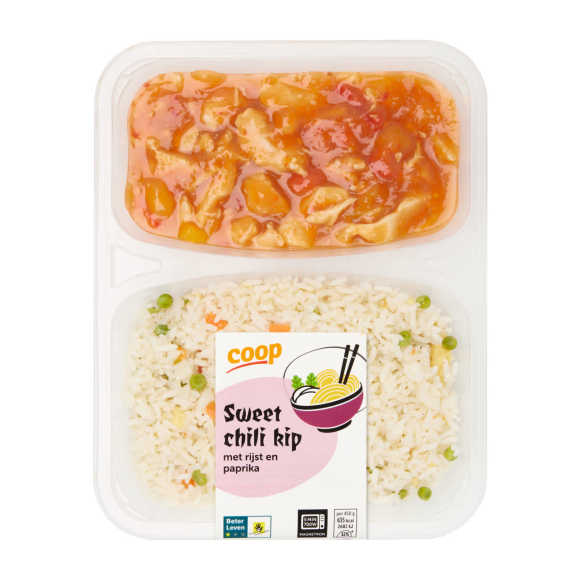 Top! van Coop Kip sweet chili & rijst product photo
