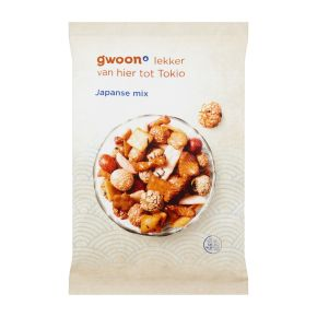 g'woon Japanse mix product photo