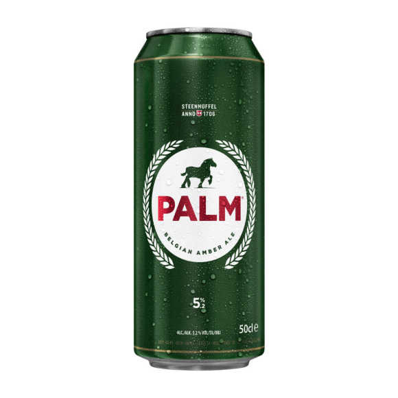 Palm Bier blik product photo