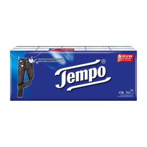 Tempo Zakdoekjes original 10 x 10 stuks product photo