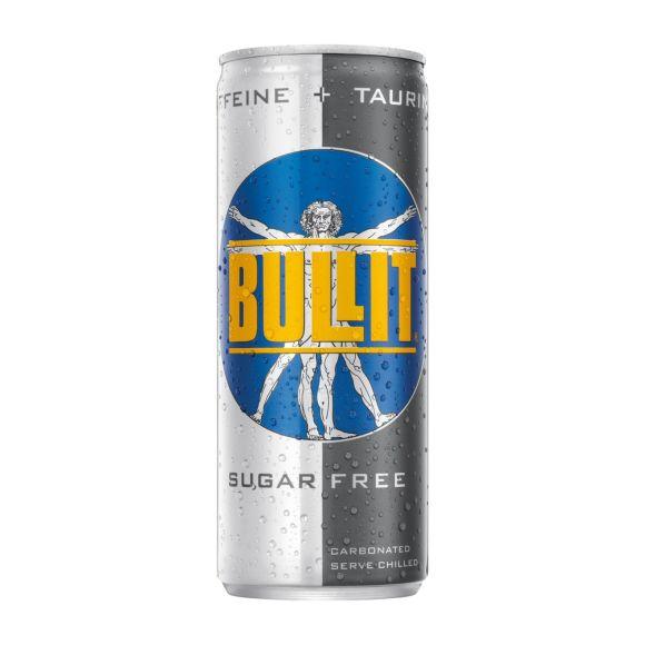 Bullit Energy drink sugar free blik product photo