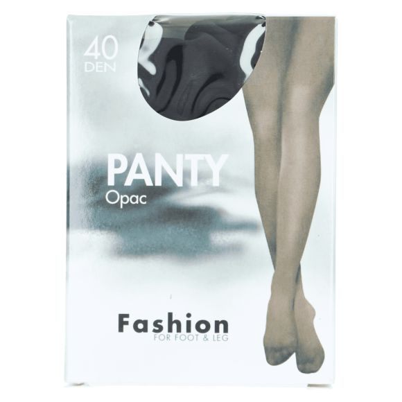 Fashion Panty opaque zwart 36/40 product photo