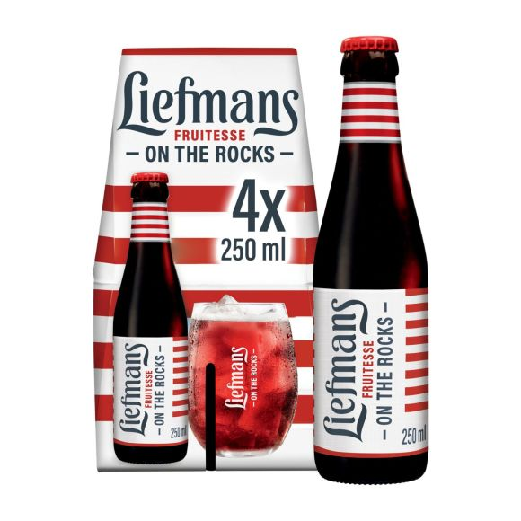 Liefmans Fruitesse bier fles 4 x 25 cl product photo