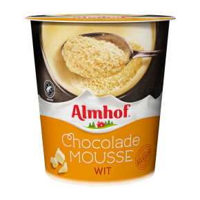 Almhof witte chocolademousse product photo