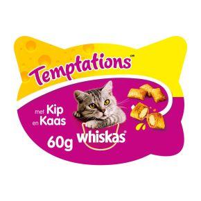 Whiskas kattensnacks temptations kip & kaas product photo