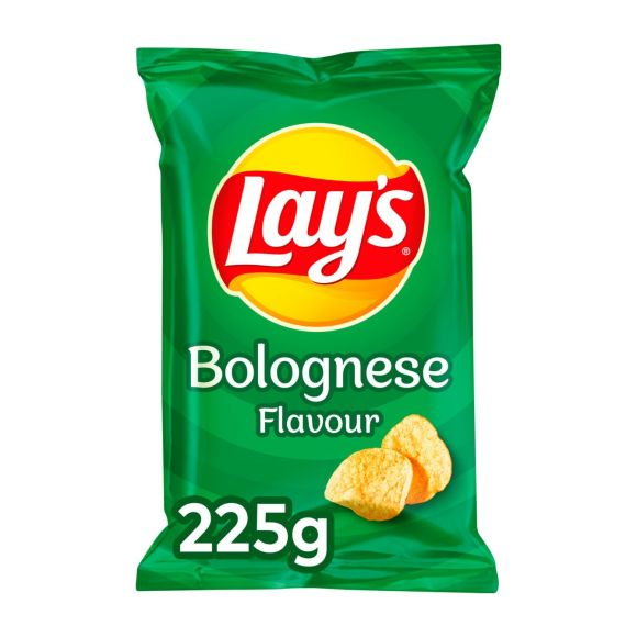Lay's Bolognese chips product photo