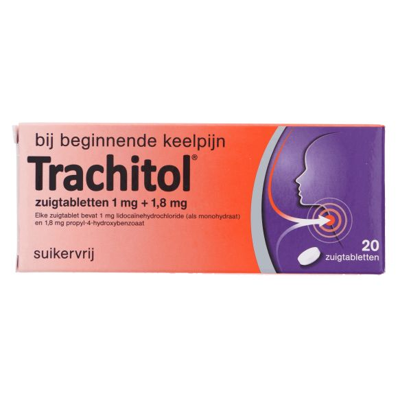 Trachitol Zuigtabletten product photo