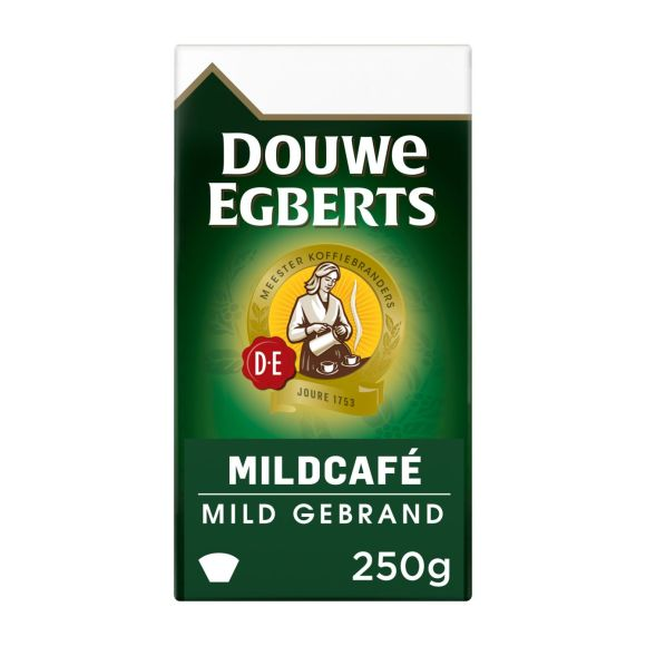 Douwe Egberts Mildcafé filterkoffie product photo