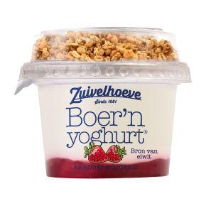 Boer'n yoghurt® aardbei & muesli product photo