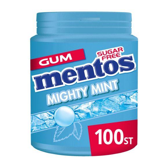 Mentos Gum mighty mint pot product photo