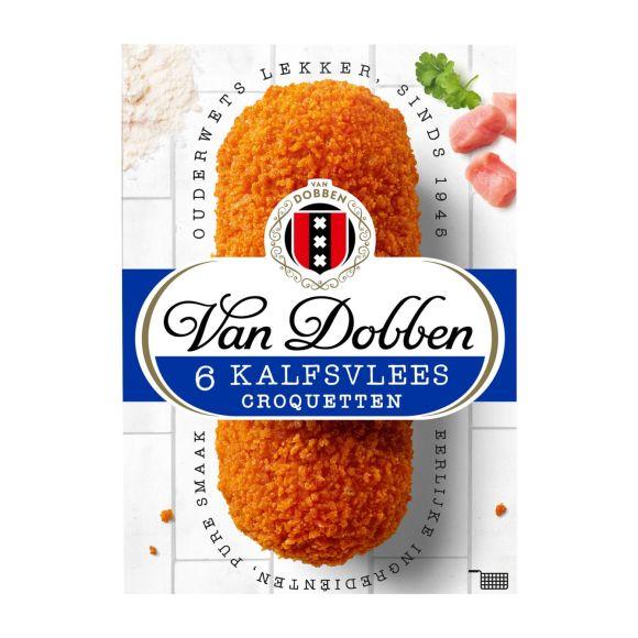 Van Dobben Kalfsvlees croquetten product photo