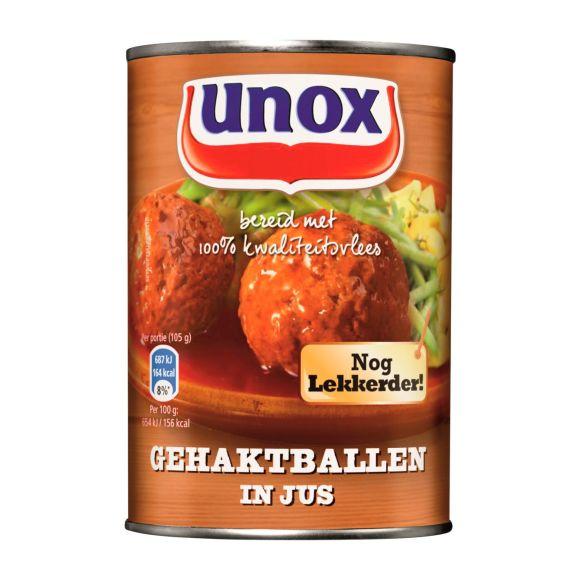 Unox Gehaktballen in jus product photo