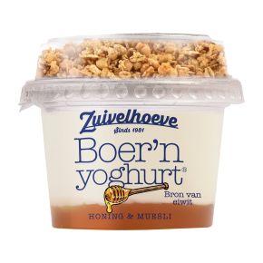 Boer'n yoghurt® honing & muesli product photo